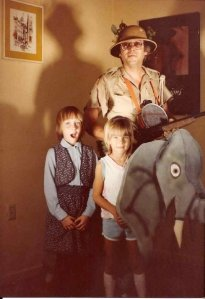 Dad - Elephant Costume